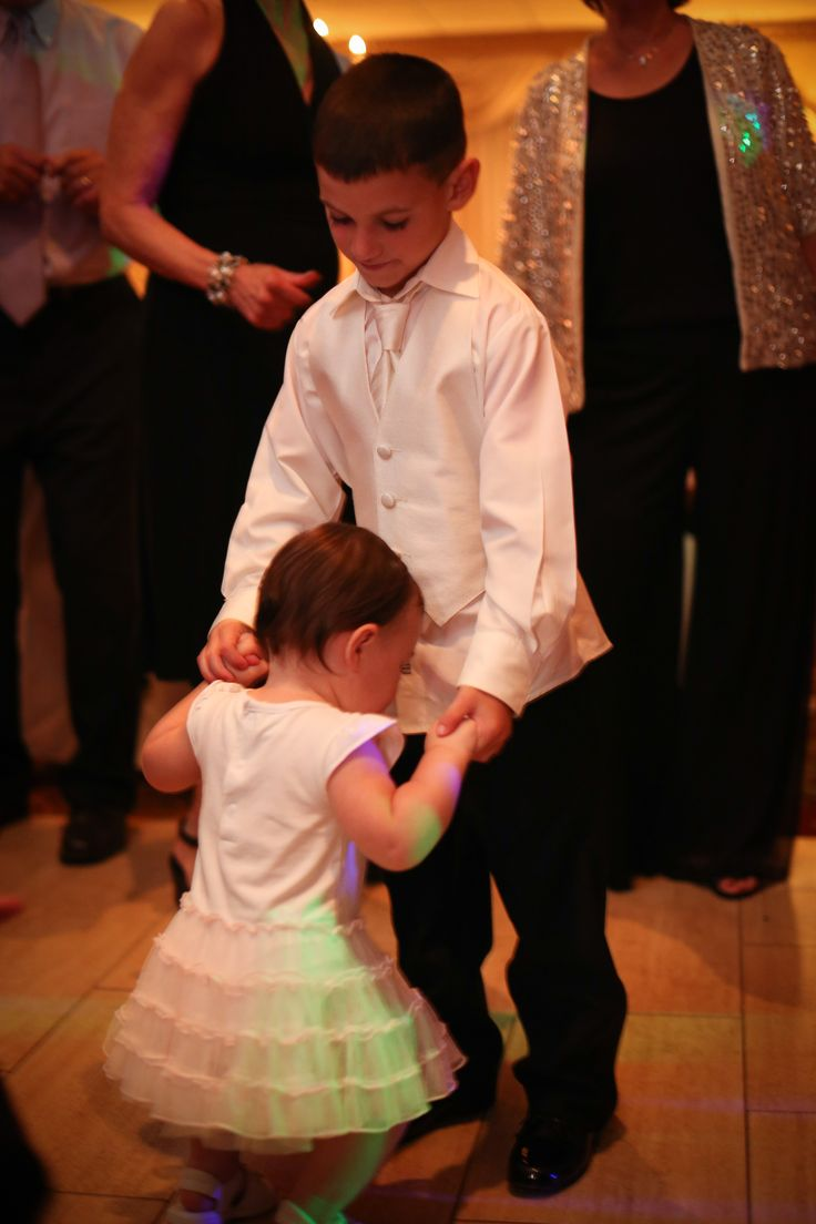 Dancing Kids at Reception