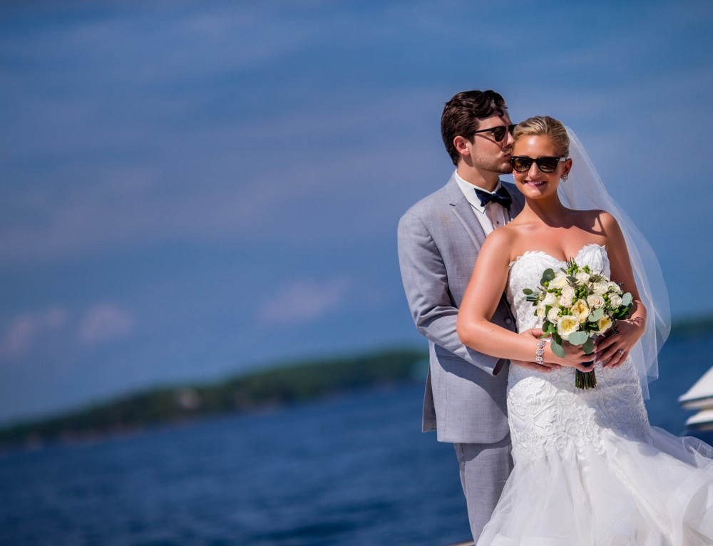 "Sarah and Holden redefine ""Match Day"" in the Thousand Islands"